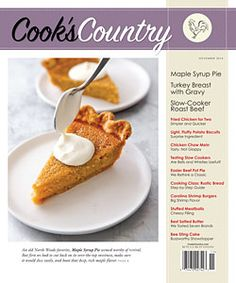 The Official Cook's Country Magazine Website - Read the Magazine, Recipes That Work, Kitchen Equipment Reviews and Taste Tests