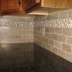 kitchen idea of the day: creamy subway tile backsplash behind the