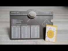 Box tutorial also in English / Boîte d'allumettes avec l'Insta'enveloppes de Stampin'Up! - YouTube