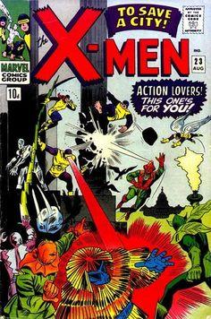 Cover for The X-Men (Marvel, 1963 series) #23