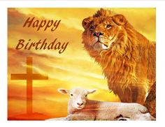 Lion and the lamb birthday