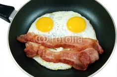 Eggs and bacon face