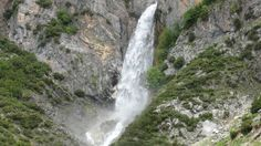 waterfall in Tzoumerka mountain -Greece