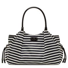Gorgeous Kate Spade Stevie Baby Bag—you can't even tell it's a diaper bag!