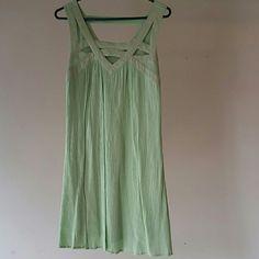 Daytrip summer dress Mini dress,stretch material. Super cute neckline. Daytrip Dresses Mini