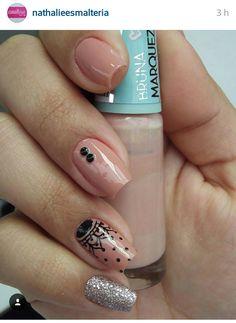 The Art Of Nails, Lace Nails, Paws And Claws, Lupe, Wedding Nails, Nail Designs, Hair Beauty, Nail Art, Makeup