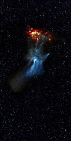 P A T C H W O R K *d a s* I D E I A S: Hand of God Nebula - A mão de Deus