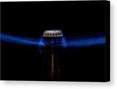 Beer Bottle Canvas Print featuring the photograph Telekinesis by Marnie Patchett