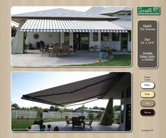 #NC #Awnings #Retractable Awning | Sunesta | Gallery #Ataltnci Breeze Storm #