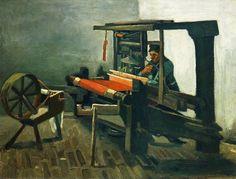 Vincent van Gogh | Weaver | 70 cm x 85 cm | Nuenen, Netherlands | 1884