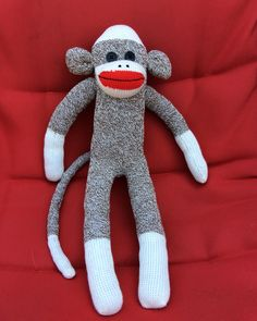 Finished today just the hat original sockmonkey by me Sunnyteddys designs