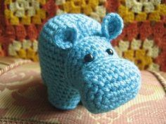 Hipopotamos Tejidos A Crochet  Moldes Para Manualidades Pattern - Free Patterns