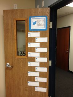 Classroom twitter exit strategy
