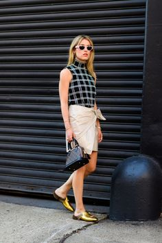 New York Fashion Week Street Style - Best Street Style at NYFW Spring 2017