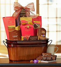 Sending your #Valentine a Godiva Be My Valentine Chocolate Basket will surely make their hearts melt! $49.99