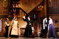 mary poppins set broadway house - Google Search