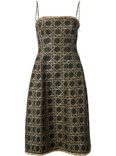 DSQUARED2 Woven Pattern Dress