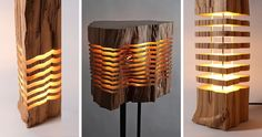 Most people use firewood to keep warm while camping or to make smores. LA-based designer Paul Foeckler…