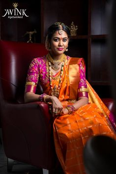 Get Inspired from thousands of photos of Latest Bridal Silk Saree Designs for your Dream Wedding, Ezwed covers real weddings and reviews.