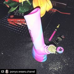 A versatile birthday gift for @ponyo.wears.chanel  Thanks for my new silicone piece @american.geisha I love you guys. Family forever  happy birthday girl  Blaze YOUR own trail & tag us in you pics and we will repost #piecemakergear.com #piecemaker #BlazeYourOwnTrail #siliconewaterpipe #thc #ganja #420 #budtender #hightimes #maryjane #marijuana #siliconebongs #suicidegirls #stoner #siliconebong #dabbing #weedsociety #kief #smokeweedeveryday #supremebusiness #bong #710  #cannabis #stonernation…