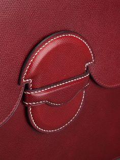 Hermès Vintage Porte-documents En Cuir - Katheleys Vintage - Farfetch.com
