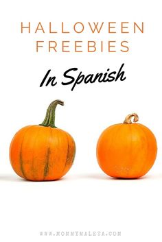 I had never heard of these fun ways to say TRICK OR TREAT in Spanish! You can check them out in this collection of Halloween Freebies in Spanish!
