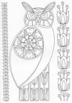 Scandinavian Coloring Book Pg 44