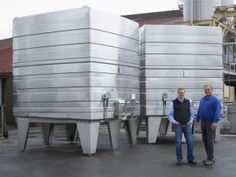 New @rodneystrong Winery Installation Optimized for Quality and Economy, article by @wineindustrynet about @lagardeinox wine tanks