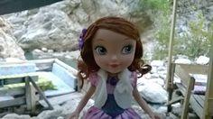 My sisters doll Princess Sofia