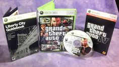 Grand Theft Auto IV GTA [Xbox 360]