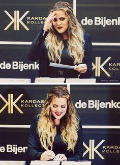 Khloe kardashian hair damnnn