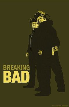 Gotta get back to this show    Bad Ass Breaking Bad Illustrations