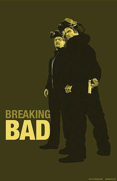 Bad Ass Breaking Bad Illustrations