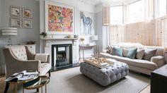 London Flat http://homegirllondon.com/real-london-luxury-living-rooms/