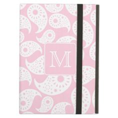 Your Letter Monogram. Pink Paisley Pattern. iPad Cover today price drop and special promotion. Get The best buyDeals          	Your Letter Monogram. Pink Paisley Pattern. iPad Cover Review on the This website by click the button below...