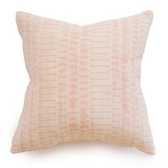 Blush Shibori Pillow