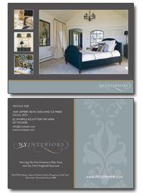 custom interior design brochure Design Marketing Pinterest