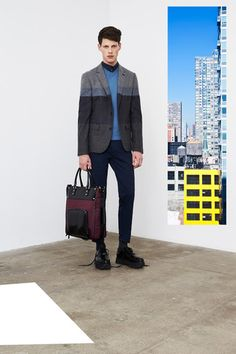 DKNY Fall 2014 Menswear Collection Slideshow on Style.com