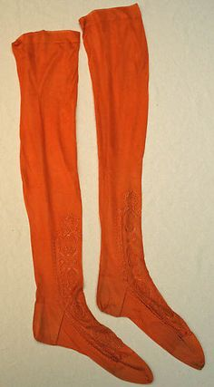 Stockings  Date: early 20th century Culture: French Medium: silk