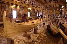Building traditional Norwegian fishing boats by hand at Gunnar Eldjarn Båtbyggeri