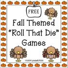 Free! Roll the Dice Fun..... worksheets to target any  objectives