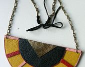 Aztec necklace by PaqRat on Etsy