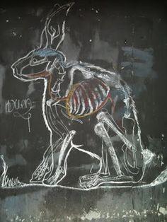 chalk hare