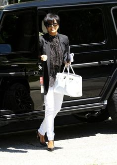 Kris Jenner; IF SHE CAN WEAR IT SO CAN I..