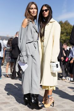 The Best Street Style from Paris Fashion Week - Street Style at the PFW Spring 2018 Shows