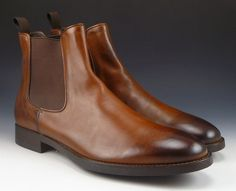 To Boot Mens New York Size 9 Cary Leather Ankle Boots Shoes Brown New #TooBootNewYork #AnkleBoots