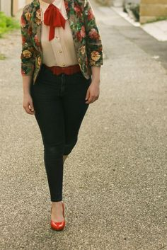 Floral Blazer, Jeans, and Me at the TPFF | Finding Femme Clothing, Shoes & Jewelry : Women : Top Brands : Jeans for women