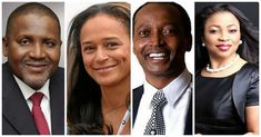AFRICAN BILLIONAIRES ON THE RISE