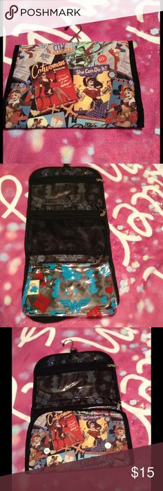 DC Beauty Bombshells Hanging Makeup Organizing Bag BRAND NEW DC Beauty Bombshells Hanging Makeup Organizing Bag DC Bags Cosmetic Bags & Cases