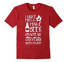 funny camping shirts | ... & make beer disappear shirt funny camping gift – PassionDoor.com